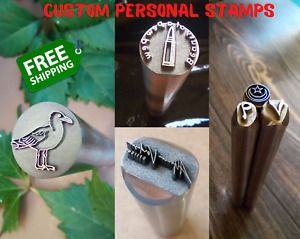 Custom steel punch maker Metal stamp Forging stamping Jewelry Stamp for Rings