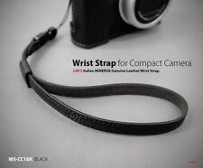 Lim's Camera Italy Genuine Leather Wrist Strap Hand Grip Black Leica Sony DSLR