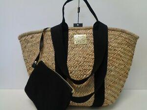 """Biba Large Straw Bag Ladies REF BAG480"""""""