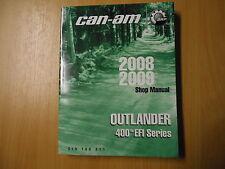Werkstatthandbuch shop manual CAN-AM Outlnder 400 tm EFI Series - Modell 2008-09