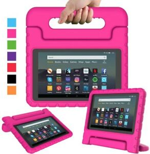 Kids Shockproof Tough Tablet Case Cover Stand For Amazon Kindle HD Fire 7 8