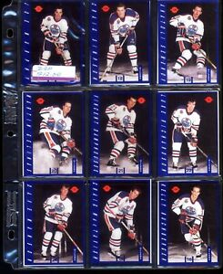16  -   Hockey Cards from the IGA set of Edmonton Oilers in 1991-92 Bill Ranford