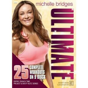 Michelle Bridges Ultimate DVD, 25 Complete Workouts, Brand New, Free Delivery