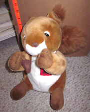 SQUIRREL plush stuffed animal Mueller Industries toy cute Copper Tube Company