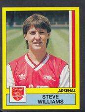 Panini Football 1987 Sticker - No 13 - Steve Williams - Arsenal (S876)