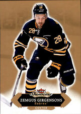 Upper Deck Fleer Showcase - NHL 2016-17 #43Zemgus Girgensons - Buffalo Sabres