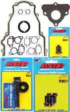 Chevy GMC 4.8 5.3 5.7 6.0 LS LS1 LS3 LS6 Timing Cover Gasket ARP Bolt Kit