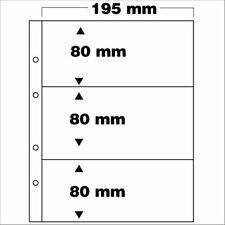 SAFE 7399 PA 5erPack Ergänzungsblätter 3-teilig Fachformat 80x195 mm