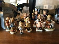 10 Girl Goebel Hummel Figure Lot Congratulations Which Hand Spring Waltz *Read*
