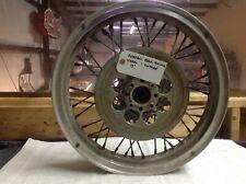 Vintage-Borrani rear racing wheel