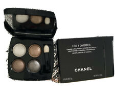 chanel eyeshadow Les 4 Ombres Brand New In Box With Brush Chanel Black Makeup