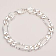925 Sterling Silver Men's Bracelet Handmade Salman Khan Inspired Jewelry Gifts
