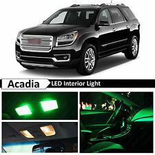 14x Green Interior LED Lights Package Kit for 2008-2015 GMC Acadia