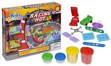 15pc Kids Play Pâte Tubs & Shaping ensembles de voitures de course Craft Tools Enfants Noël