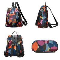 LP Frauen Oxford-Tuch Rucksack Backpack Tasche Freizeit Schule Reise Schultasche