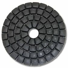 "4"" DAMO Black Buff Pads for Granite Polishing & Glazing/ Final Buffing Pads New"