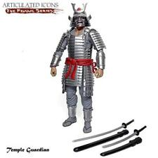 "Fwoosh Articulated Icons Feudal Series Surai 6/"" figure Samurai Warlord SSW"