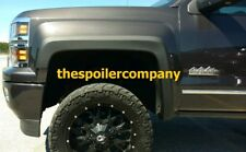 SET OF 4 NEW PAINTED FENDER FLARES FOR 2014-2019 CHEVY SILVERADO 1500/2500/3500