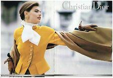 PUBLICITE ADVERTISING 095  1992  DIOR collection boutique pret à porter (2p)