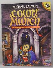 Count Munch by Michael Salmon (Paperback, 1993) VGC Signed Children's book