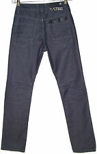 G-Star Raw Denim Jeans 3301 Straight Leg Pants Denim Mens Sz 30 x 32 #051