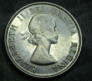 1953 Silver Dollar Canada Very High Grade.KM#54