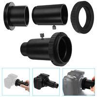 "Telescope Camera Adapter 1.25"" Extension Tube T Ring For Nikon DSLR DC619 T2"