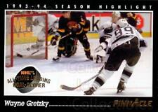 1993-94 Pinnacle USA #512 Wayne Gretzky