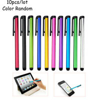 Durable 10Pcs Capacitive Touch Screen Stylus Pen For Universal  Phone Tablet PC