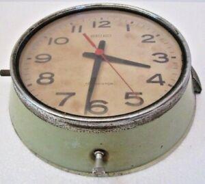 SEIKO Marine SHIP'S TRANSISTOR Clock - JAPAN -  SHIP'S 100% ORIGINAL (1547)