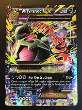 Carte Pokemon M TYRANOCIF 43/98 Ultra Rare Mega EX XY7 Française NEUF