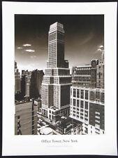 Rolf Uicker  Office Tower,  New York, Kunstdruck 60 x 80 cm