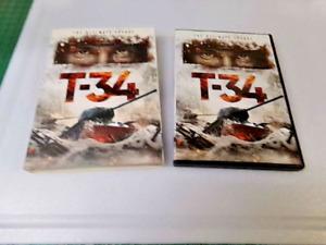 T-34 (DVD, 2019) - W/ SLIPCOVER