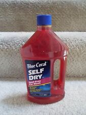 *NEW* NOS Vingtage Blue Coral Self DrySpot Free Car Wash 35 Oz