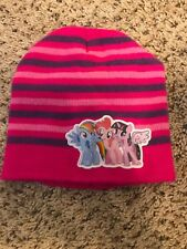 MY LITTLE PONY - Pink Striped - Kids Girls One SIze Fits Most CAP BEANIE HAT a0053b67a894