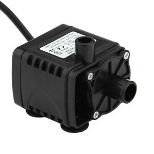 Mini Ultra-quiet Micro Brushless Water Pump Car Submersible DC 12V 5W 240 Black