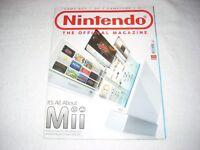 Nintendo Official Magazine Issue 10 december 2006 The Wii Mario Slam Basketball