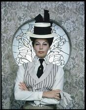 AVA GARDNER Striking Vintage Fashion Photo Original TRANSPARENCY 55 DAYS PEKING
