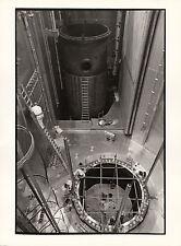 Photo originale centrale nucléaire Fessenheim construction réacteur