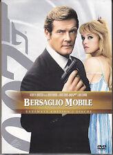 2 Dvd «007 ~ BERSAGLIO MOBILE» con Roger Moore Ediz. Speciale Slipcase 1983