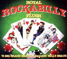 Royal Rockabilly Flush/75 Big Brash BEASTLY Badass Billy BEATS - 3 CD NUOVO/scatola originale