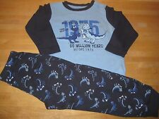 TCM Tchibo Schlafanzug Jungen Nachtwäsche DINO Gr. 86-92 TOP!