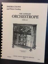 Capehart Orchestrope 28-F Service & Parts Manual (AMR Publication)