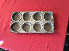 Antique Gray Graniteware Muffin Tin