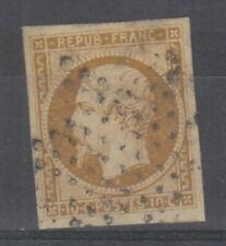 FRANCE 1852 10 C Bistre République Napoléon, SG 37 Cat £ 850