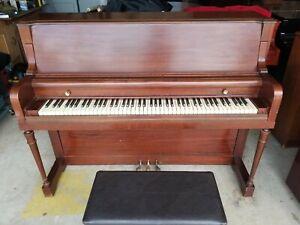 Everett upright piano