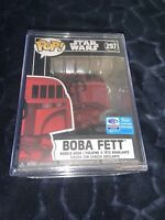 NEW Funko Pop Star Wars Boba Fett 297 Limited Edition Collectible IN HAND