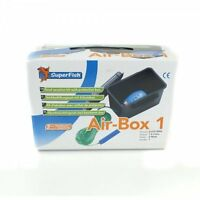 Super Fish Air Box Garden Pond Aeration Kit Set 1, 2 Or 4 Air Stone Airline Hose