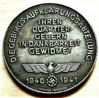 1940 - 1941 WW2 GERMAN COMMEMORATIVE REICHSMARK COLLECTORS COIN
