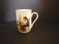 Norman Rockwell Museum Coffee Tea Cup For a Good Boy